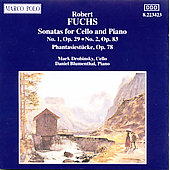 Fuchs: Cello Sonatas Nos. 1 & 2