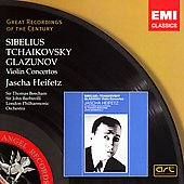 Sibelius, Tchaikovsky, Glazunov: Violin Concertos