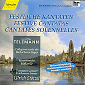 Telemann: Festive Cantatas / St&ouml;tzel, Bach Collegium Vocale