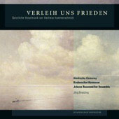 Grant us Peace - sacred vocal music of Andreas Hammerschmidt / Jorg Breiding, Himlische Cantorey, Hanover Boys Choir