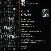 The Russian Piano Tradition - Emil Gilels