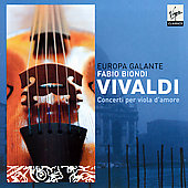 Vivaldi: Concerti per viola d'amore / Biondi, Europa Galante