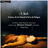 Tombeau de Sa Majest&eacute; la Reine de Pologne - Bach / Pierlot