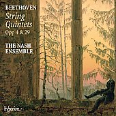 Beethoven: String Quintets Op 4 and 29 / Nash Ensemble