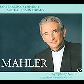 Mahler: Symphony no 8, Adagio from Symphony no 10 / Michael Tilson Thomas, et al