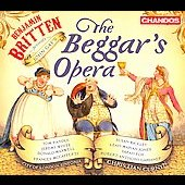 Benjamin Britten: The Beggar's Opera / Christian Curnyn, et al