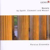 Nonets by Spohr, Clementi and Mozart