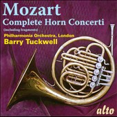 Mozart: Complete Horn Concerti & Fragments / Tuckwell