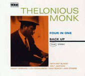 Thelonious Monk: Four in One [Back Up] [PA]