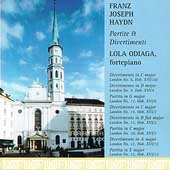 Haydn: Partite and Divertimenti / Lola Odiaga