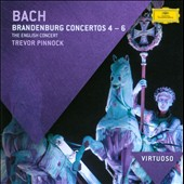 Bach: Brandenburg Concertos Nos. 4-6 / Trevor Pinnock - The English Concert
