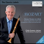 Mozart: Clarinet Quintet, K 581; Quintet Fragments, K 581a; K 580b, K 516c / Colin Lawson, clarinet