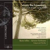Sergej Rachmaninov: Piano Works for Four and Six Hands / Marco Sollini, Salvatore Barbatano, Francois-Joel Thiollier