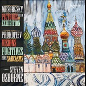 Prokofiev: Sarcasms; Visions Fugitives / Steven Osborne, piano