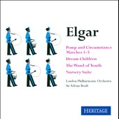 Elgar: Pomp & Circumstance Marches 1-5; Dream Children; The Wand of Youth; Nursery Suite / Adrian Boult, London PO