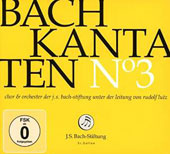 J.S. Bach: Cantatas Vol. 3 - BWV 132, 35 & 1 / Choir & Orchestra of the J.S. Bach Foundation; Lutz