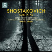 Shostakovich: Cantatas - The Execution of Stepan Razin; The Sun Shines Over Our Motherland; The Song of the Forests / Aleksei Tanovitski, bass; Kostiantin Andrejev, tenor
