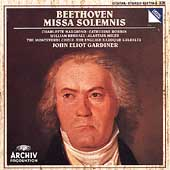 Beethoven: Missa Solemnis / John Eliot Gardiner