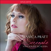 Serenade - 19th century art songs by Rossini, Bellini, Donizetti, Massenet, Gounod & Delibes / Jessica Pratt, coloratura soprano; Vincenzo Scalera, piano