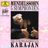 Karajan Collection - Mendelssohn: 5 Symphonien / Berlin PO