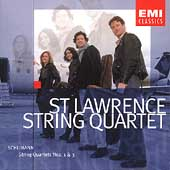 Schumann: String Quartets no 1 & 3 / St. Lawrence Quartet