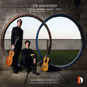 'Der Wanderer' - Brahms: Theme & Variations, Op. 18; Schubert: 'Death & the Maiden'; Quartet, D.173; Franck: Prelude, Fugue et Variations, Op. 18; Mertz / Giacomo Copiello & Michele Tedesco, guitars