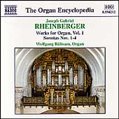 Organ Encyclopedia - Rheinberger: Organ Works Vol 1 / Rübsam