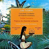 Schifrin: Concertos for Flute & Guitar / Canales, Laguna