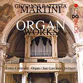 SCENE  Martini: Organ Works / Ennio Cominetti