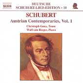Deutsche Schubert-Lied-Edition 10 -Austrian Contemporaries 1