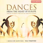 Dances - Brahms, Haydn, etc / Yuli Turovsky, Montreal Musici