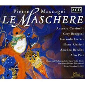 Mascagni: Le Maschere / Bartoletti, Cassinelli, Broggini
