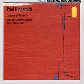 Hindemith: Orchestral Works Vol 4 / Albert, Melbourne SO