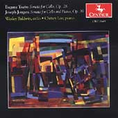 Ysaye, Jongen: Sonatas for Cello and Piano / Baldwin, Lee