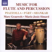 Music for Flute and Percussion / Grauwels, Simard