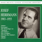 Dokumente Einer S&auml;ngerkarriere - Josef Hermann