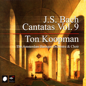 Bach: Cantatas Vol 9 / Ton Koopman, Amsterdam Baroque