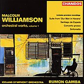 Williamson: Orchestral Works Vol 1 / Gamba, Iceland SO