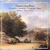 Ries: Clarinet Sonatas, Clarinet Trio / Kl&#246;cker, Fromm, Duis