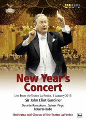 New Year's Concert 2013 - Tchaikovsky: Symphony no. 2; Rossini; Verdi: arias & orchestral works / Desirée Rancatore, soprano (live, 1/1/2013) [DVD]