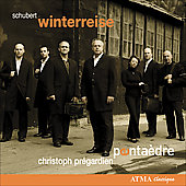 Schubert: Winterreise / Christoph Pr&#233;gardien, et al