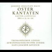 Bach: Easter Cantatas / Rotzsch, Thomanerchor Leipzig, et al