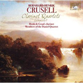 Crussell: Complete Clarinet Quartets / De Graff, Furman, Shimon, Pachucka