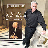 Bach: The Well Tempered Clavier Book 2 / Craig Sheppard