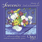 Music of Paul Schoenfield - Souvenirs, Partita, Café Music, etc / Opus Two