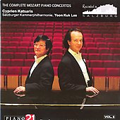 Mozart: The Complete Piano Concertos Vol 5 / Lee, Katsaris, et al