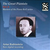 The Great Pianists, Vol. 8: Artur Rubinstein