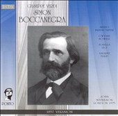 Verdi: Simon Boccanegra (1857 Version)