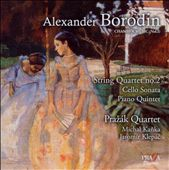 Borodin: Quartet No. 2; Cello Sonata; Piano Quintet in C minor / Prazak Quartet