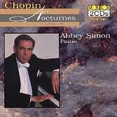 Chopin: Nocturnes (Complete) / Abbey Simon, piano
